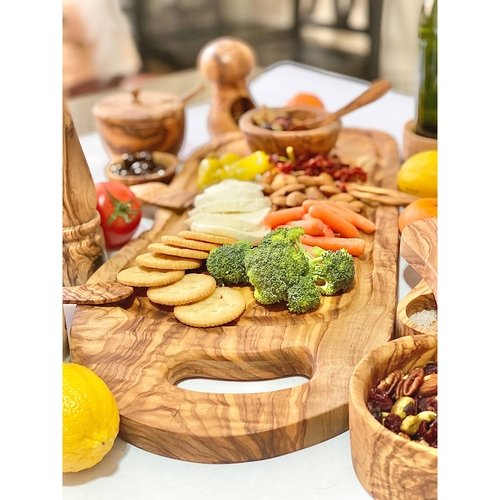 home serving kitchen platter cutting board cheese